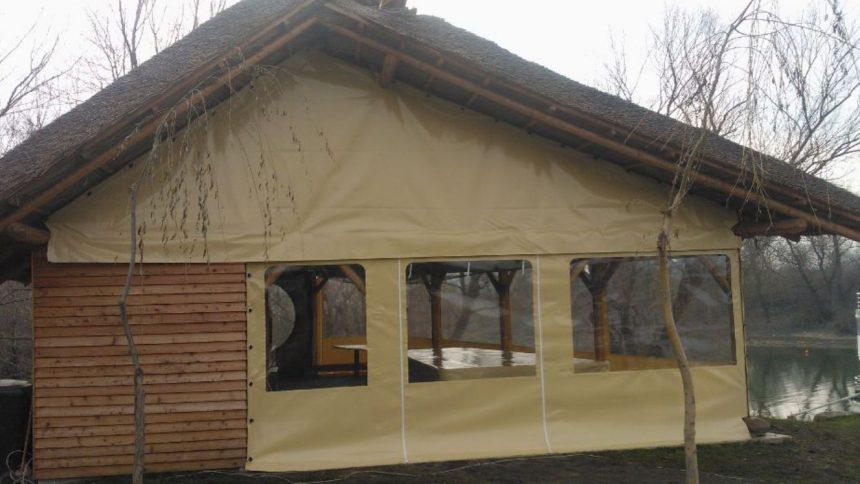 Corturi de Gradina cu geam PVC transparent !